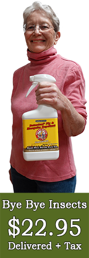 Barb Bye Bye Insects Spray Bottle