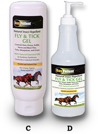 BugPellent Natural Mosquito & Tick Repellent Gel