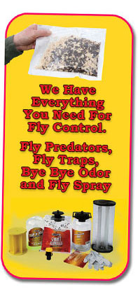 We Have Everything You Need for Fly Control!