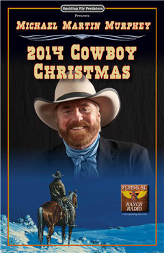 Michael Martin Murphey Christmas Tour Flyer