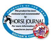 Bye Bye Odor is Horse Journal's Editors Choice