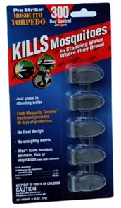 Five Mosquito Torpedoes come per package for $8.99