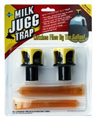 Milk Jugg Trap® $9.69 for two trap heads and two attractants. Re-useable